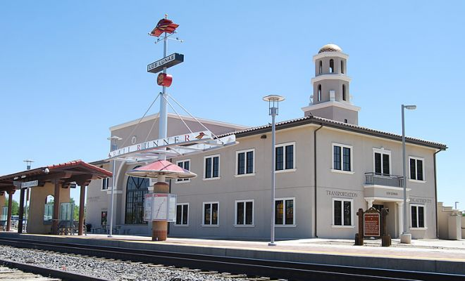 Rail Runner Station - Los Lunas